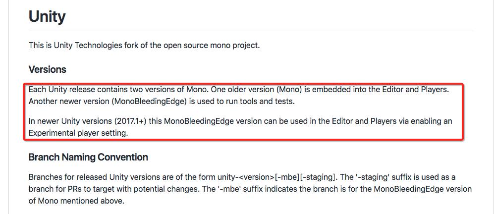 关于编译 Net 4 6版本的mono库-- UWA问答:帮助开发者找到更好的答案